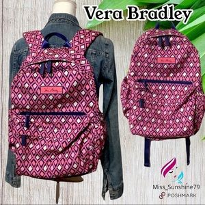 Vera Bradley - pink purple backpack super cute 🥰